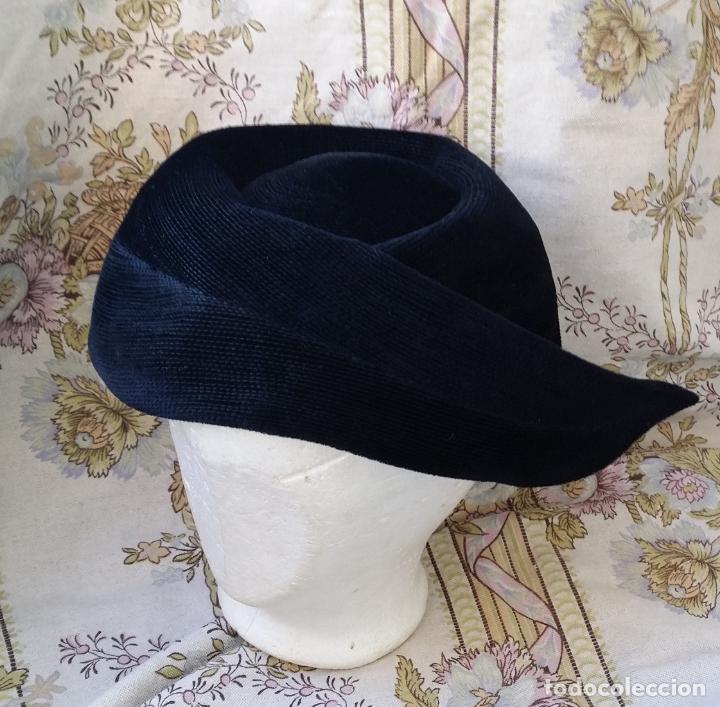 Vintage: Tocado, sombrero alemán vintage - Foto 2 - 190000550