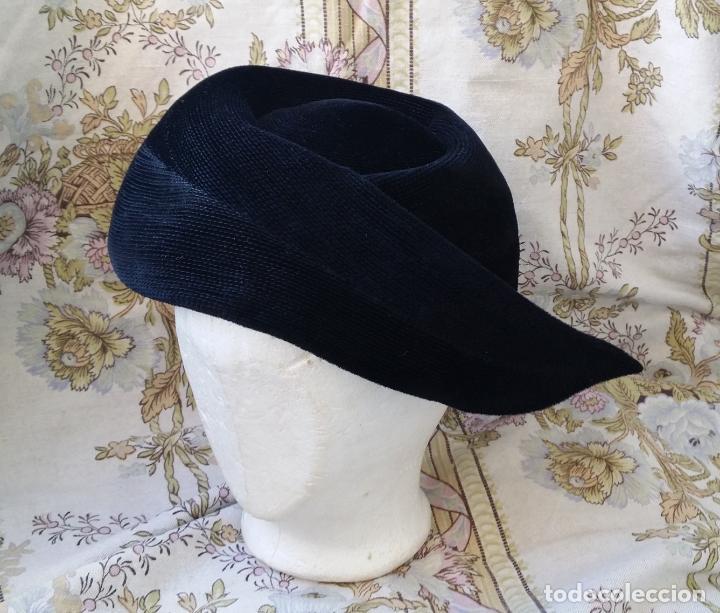 Vintage: Tocado, sombrero alemán vintage - Foto 3 - 190000550