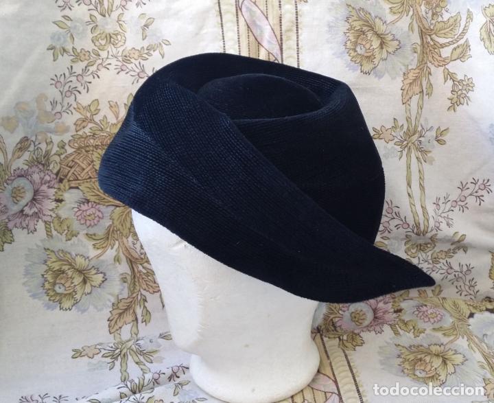 Vintage: Tocado, sombrero alemán vintage - Foto 4 - 190000550