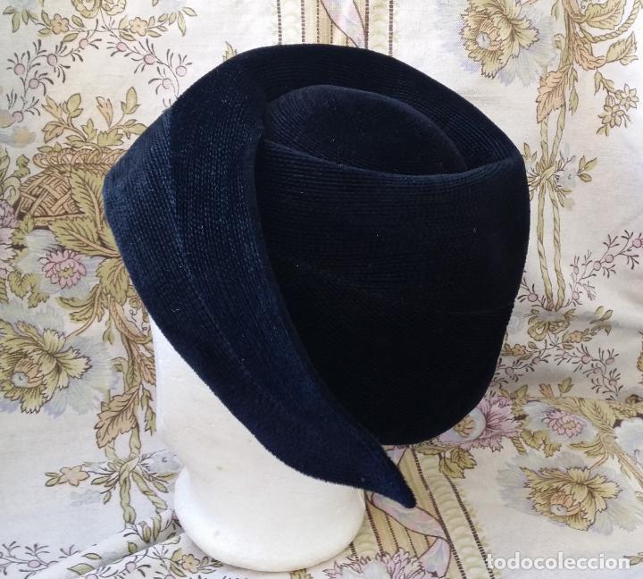 Vintage: Tocado, sombrero alemán vintage - Foto 6 - 190000550