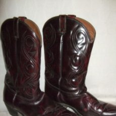 Vintage: VINTAGE BOTA, WESTERN, TEJANA .COUNTRY BOOTS. PIEL . MADE IN USA. Lote 190081991