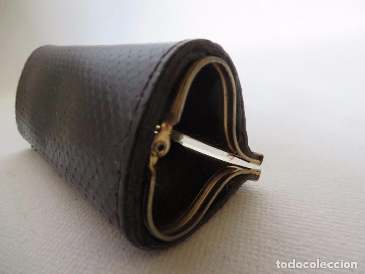 Vintage: Monedero de piel de serpiente - Foto 3 - 191357430