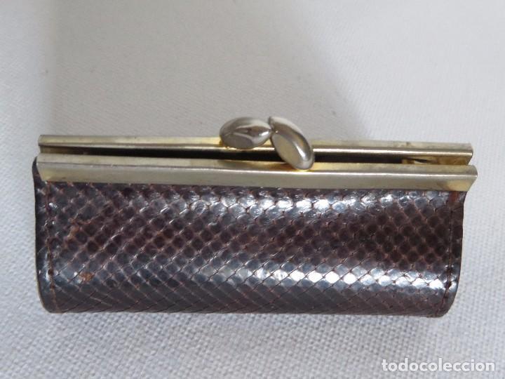 Vintage: Monedero de piel de serpiente - Foto 6 - 191357430