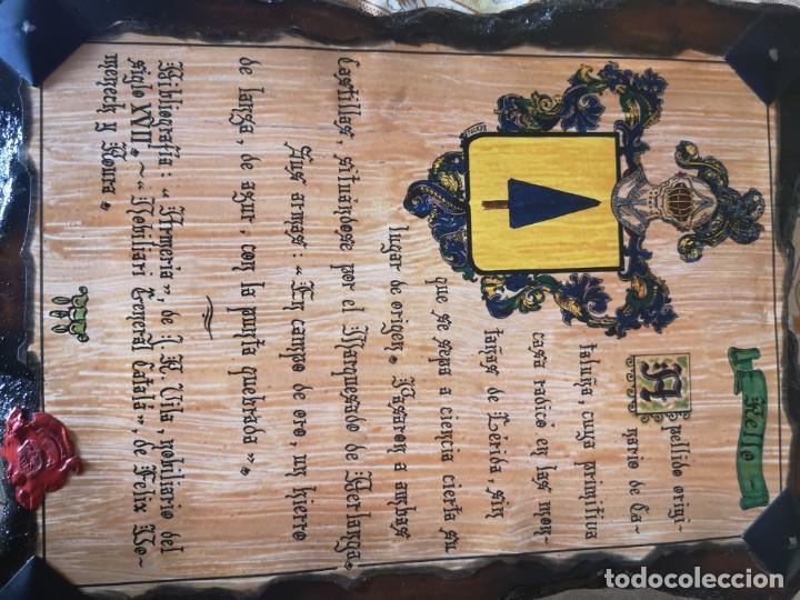 TABLA DE APELLIDO RELLO (Vintage - Moda - Hombre)