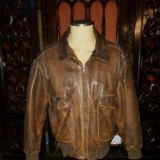 Vintage: CHAQUETA PIEL HOMBRE HUGO BOSS 54. Lote 191627477
