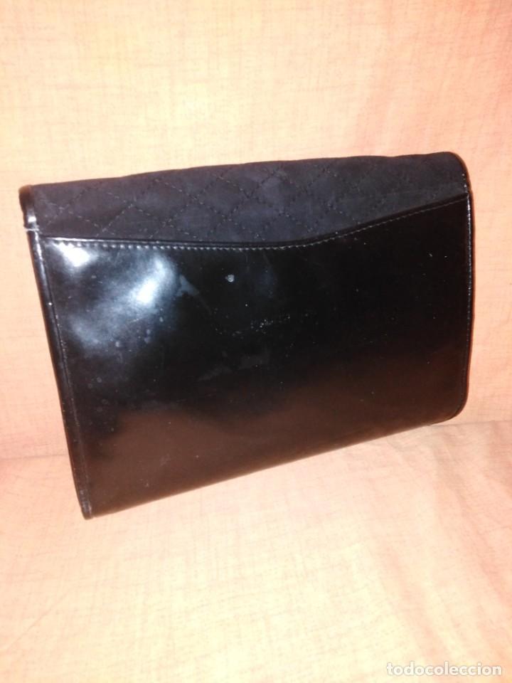 Vintage: Precioso bolso de charol y piel con espejos años 50/60 - Foto 2 - 191746233