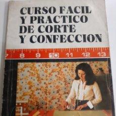 Vintage: VINTAGE CURSO Y PATRICO DE CIRTE CONFECCION MARACAIBO ACADEMIA MARGOT ALTA COSTURA. Lote 192568025