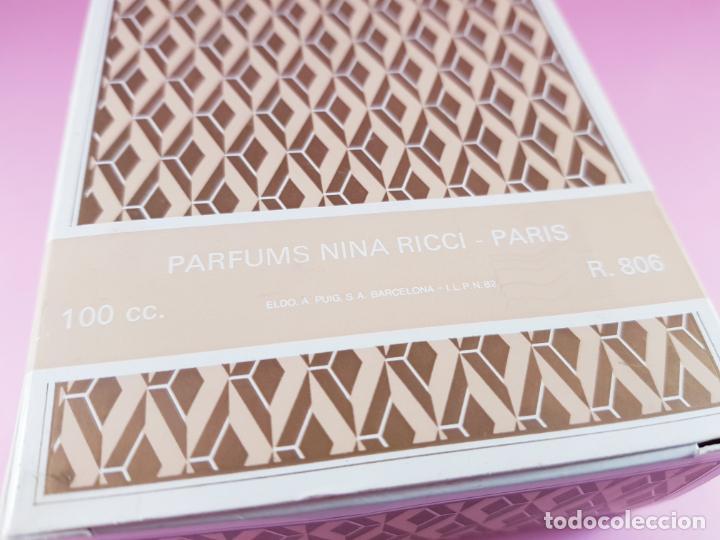 Vintage: COLONIA-PARFUMS NINA RICCI-PARÍS-100 ML-85º-BUEN ESTADO-VER FOTOS - Foto 8 - 193237336