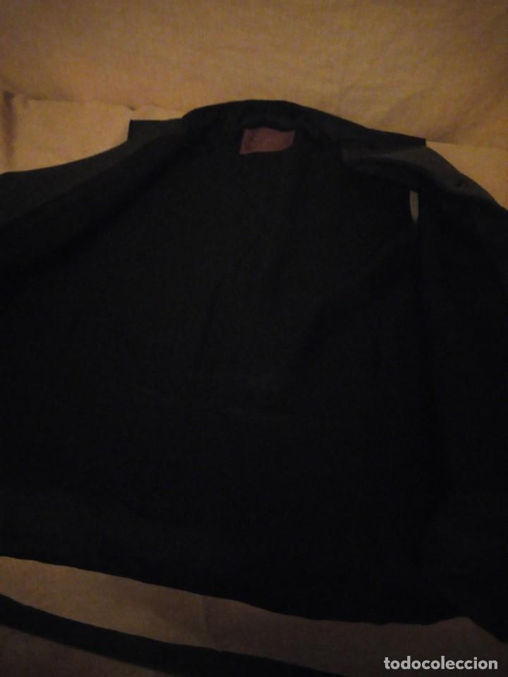 Vintage: chaleco de traje burton menswear,gris forro negro. - Foto 7 - 193347700