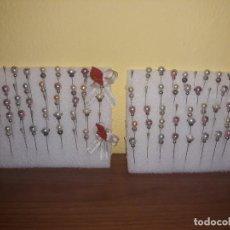 Vintage: 100 ALFILERES PERLAS,NOVIA,MANTILLA ,COMUNION.... Lote 193728562