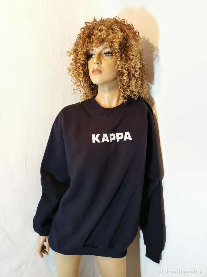 Vintage: SUDADERA ORIGINAL AÑOS 70-80 KAPPA--TALLA XL --GRAN CALIDAD !!!!- - Foto 2 - 193968987