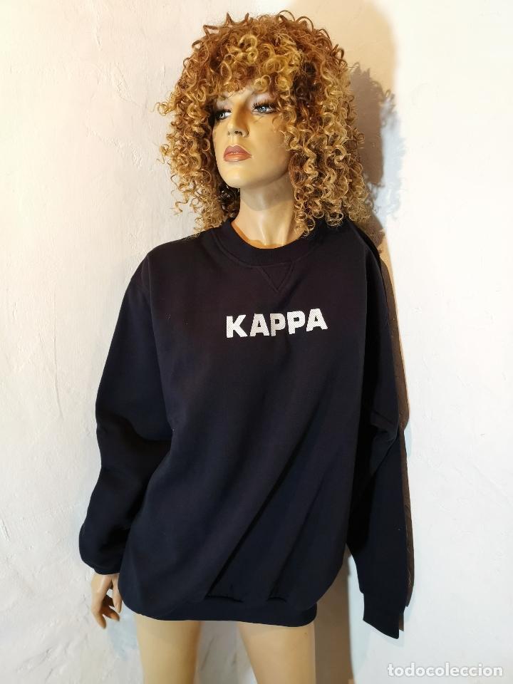 SUDADERA ORIGINAL AÑOS 70-80 KAPPA--TALLA XL --GRAN CALIDAD !!!!- (Vintage - Moda - Hombre)