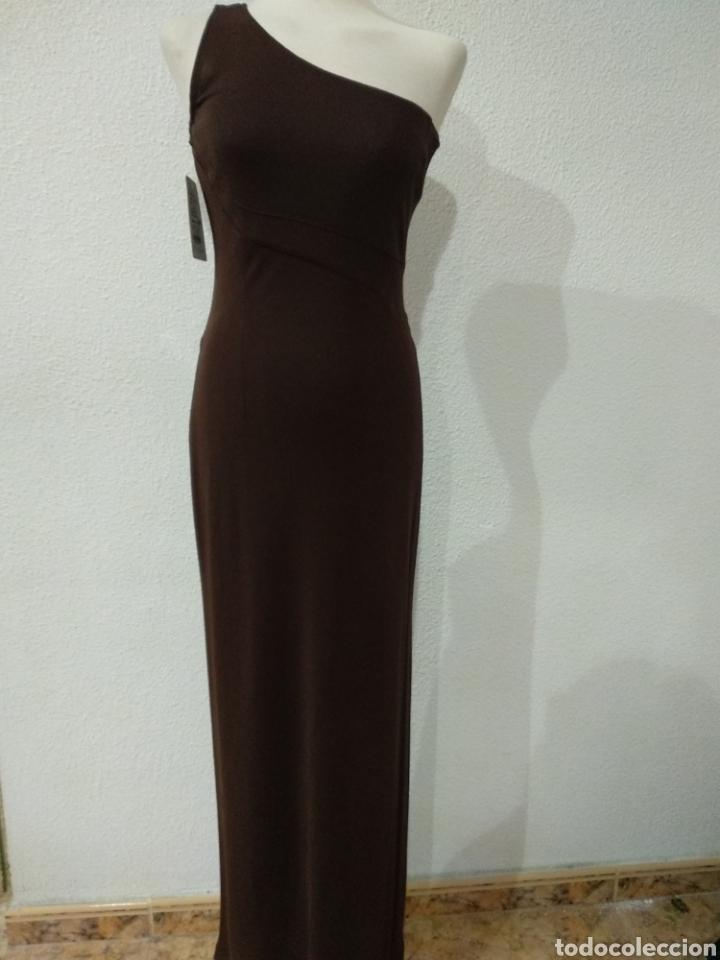 Vintage: Liquidación. Vestido tirante marrón. Talla 42. Presen - Foto 2 - 194194850
