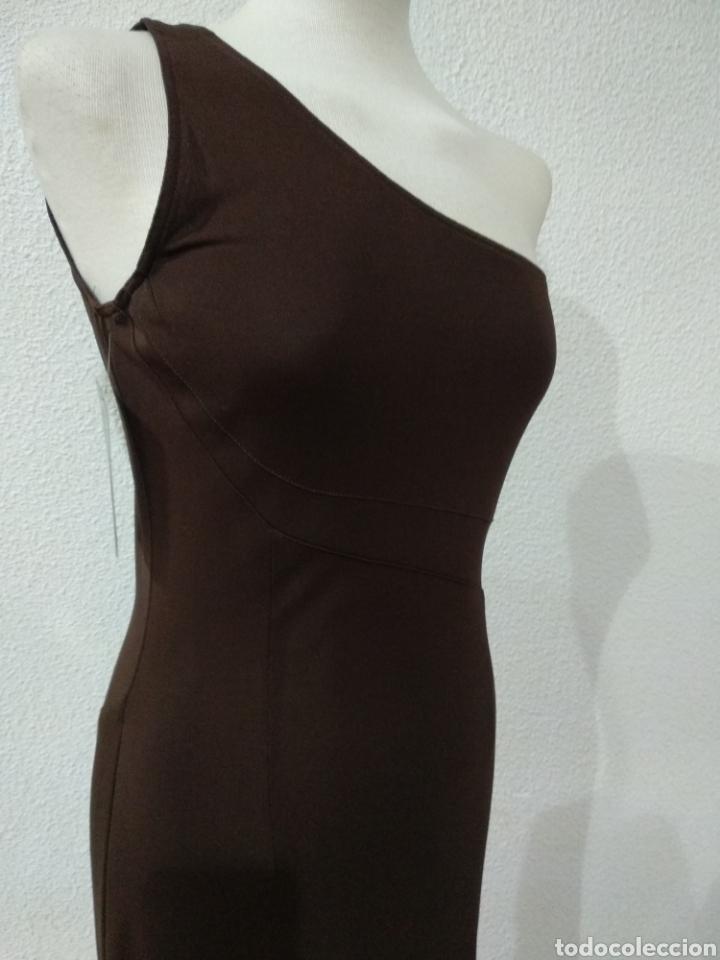 Vintage: Liquidación. Vestido tirante marrón. Talla 42. Presen - Foto 3 - 194194850