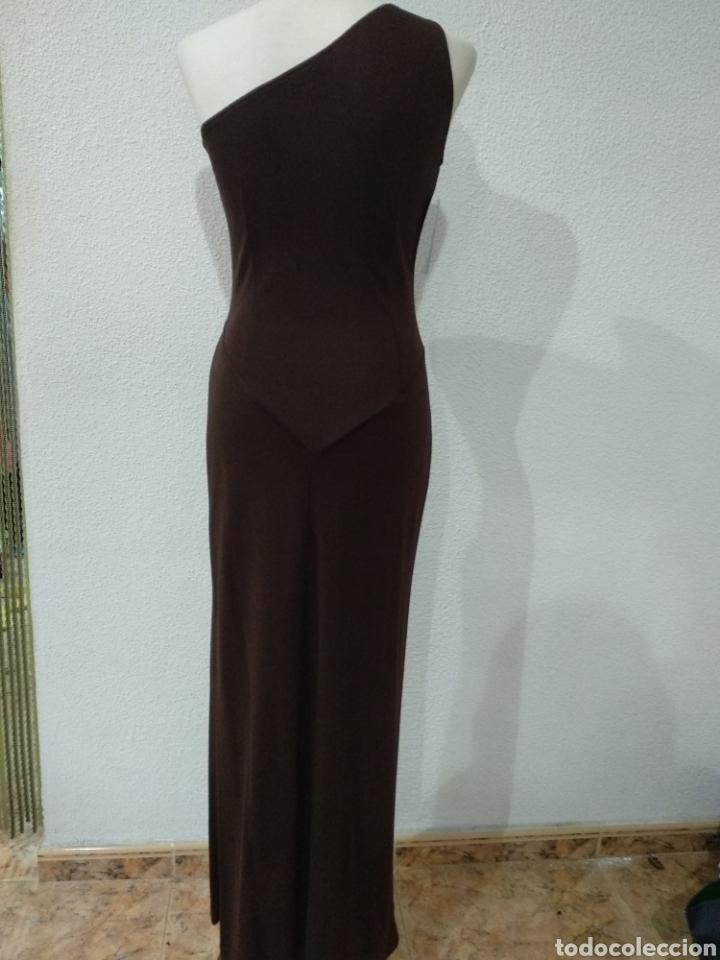 Vintage: Liquidación. Vestido tirante marrón. Talla 42. Presen - Foto 6 - 194194850