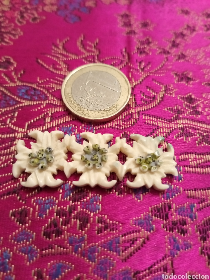 Vintage: Flores para broche - Foto 2 - 194231871