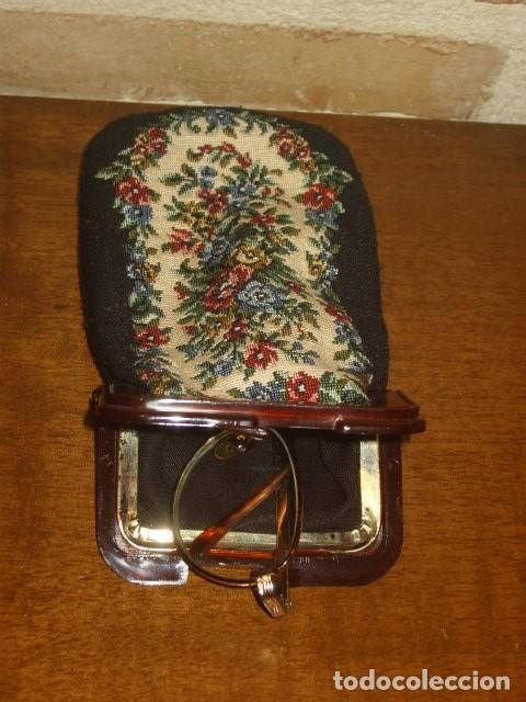 Vintage: FUNDA DE GAFAS PETIT POINT - Foto 3 - 194234846