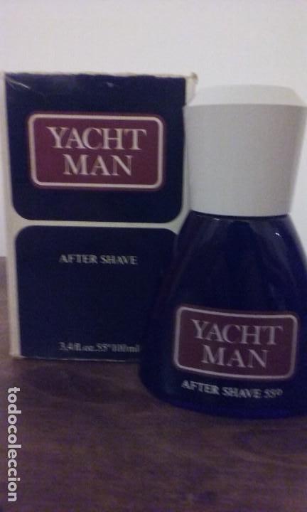 YACHT MAN (CLÁSICO ).MASAJE O AFTER SHAVE SIN USO. (100ML) . (Vintage - Moda - Hombre)