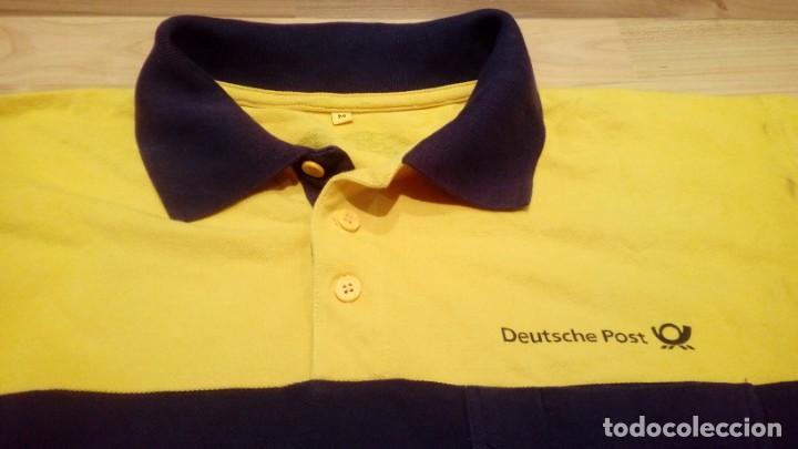 POLO DEUTSCHE POST (Vintage - Moda - Hombre)