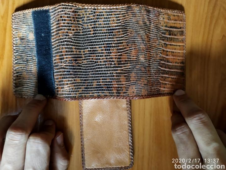 Vintage: Billetera Monedero de piel de serpiente piton - Foto 2 - 194294222