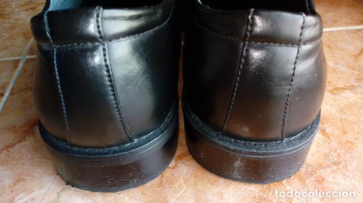 Vintage: Zapatos negros de puntera cuadrada marca Propeller. Puestos una vez. Talla 46 (Talla 12 UK) - Foto 6 - 194312180