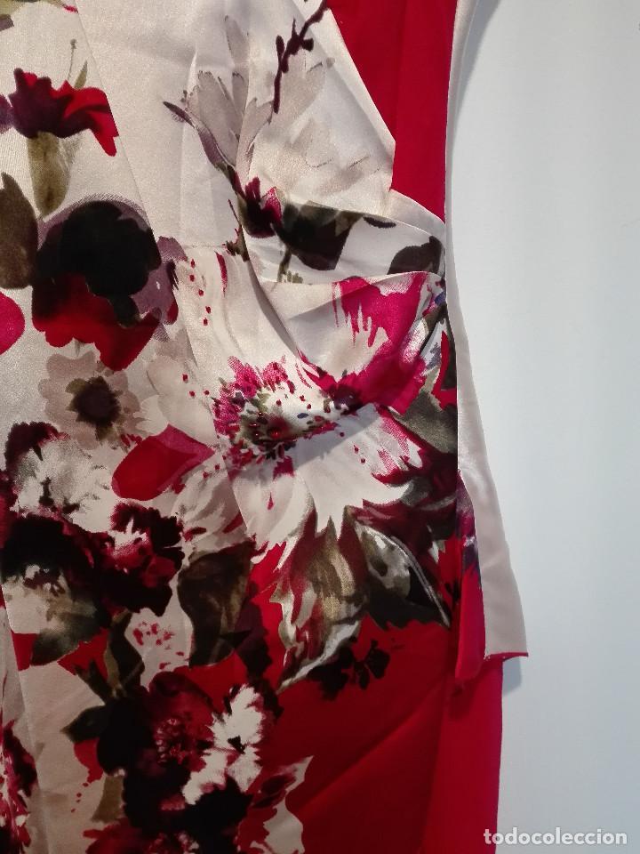 Vintage: Vestido de fiesta en seda - Foto 2 - 194318183