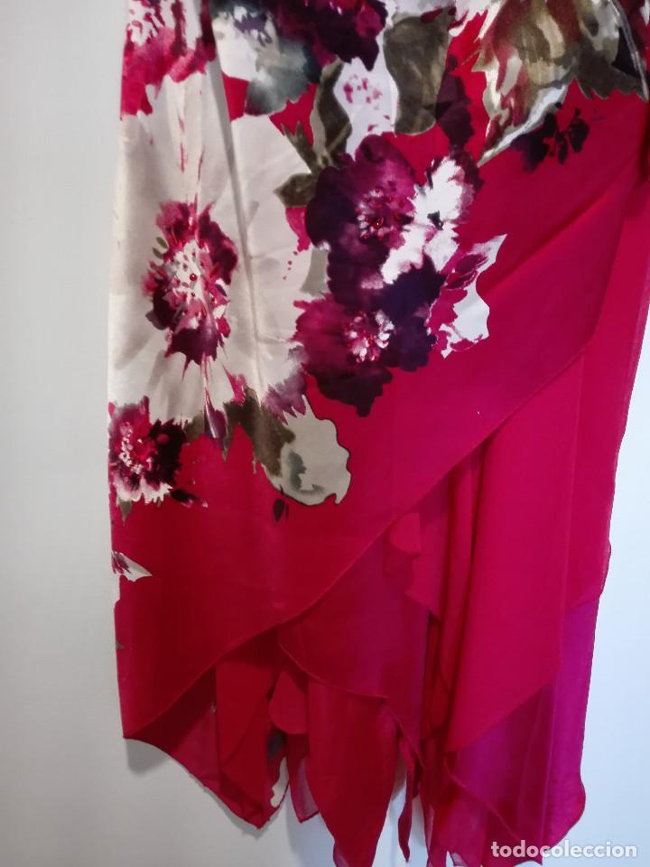 Vintage: Vestido de fiesta en seda - Foto 3 - 194318183