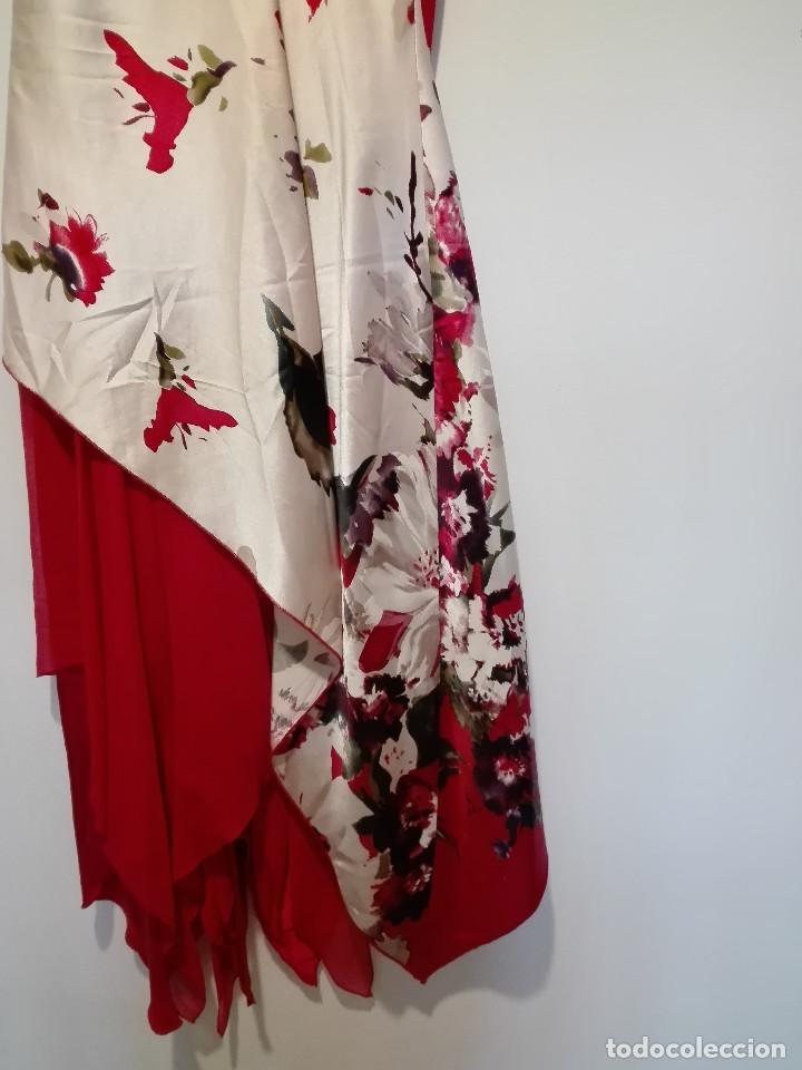 Vintage: Vestido de fiesta en seda - Foto 5 - 194318183