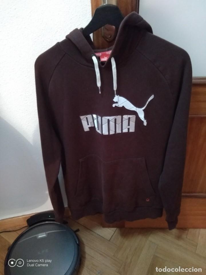 PUMA. SUDADERA (Vintage - Moda - Hombre)