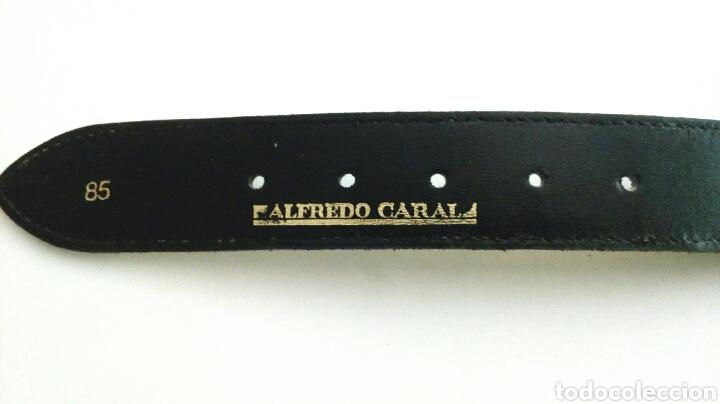 Vintage: Cinturón Iberia de Alfredo Caral - Foto 2 - 194700860