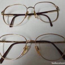 Vintage: 2 MONTURAS GAFAS MUJER AÑOS 80. Lote 194920842