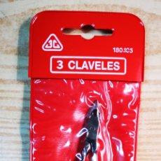Vintage: MANICURA LOS 3 CLAVELES A ESTRENAR. Lote 195053235