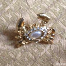 Vintage: BROCE PIN VINTAGE CON FORMA DE CANGREJO. Lote 195106575