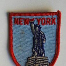 Vintage: PARCHE NEW YORK. Lote 195155148