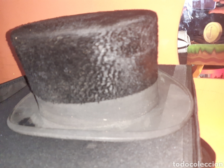 Vintage: Sombrero de Copa - Foto 2 - 195203411
