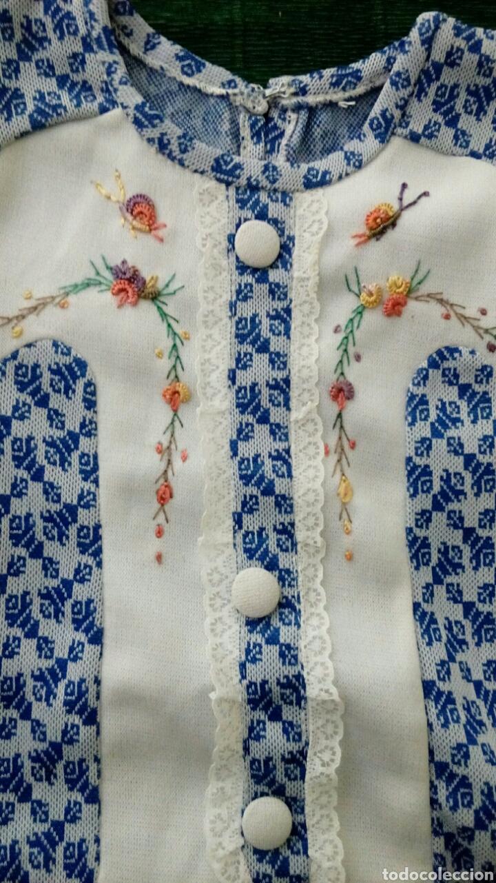 Vintage: Vestido de niña original de los años 70 sin extrenar - Foto 2 - 195276493