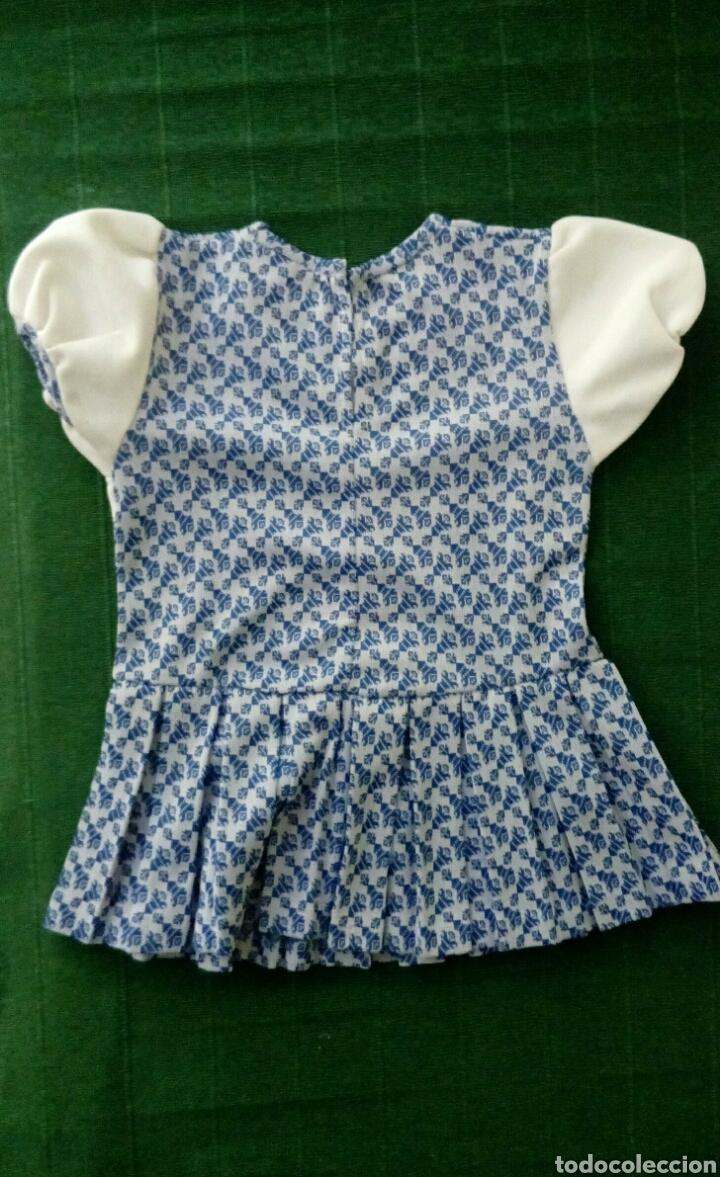 Vintage: Vestido de niña original de los años 70 sin extrenar - Foto 3 - 195276493