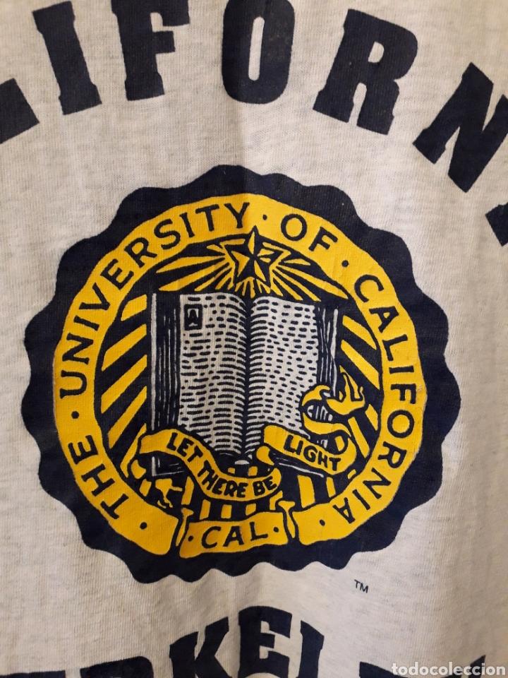 Vintage: California Berkeley University authentic vintage tshirt camiseta talla S - Foto 2 - 195308830