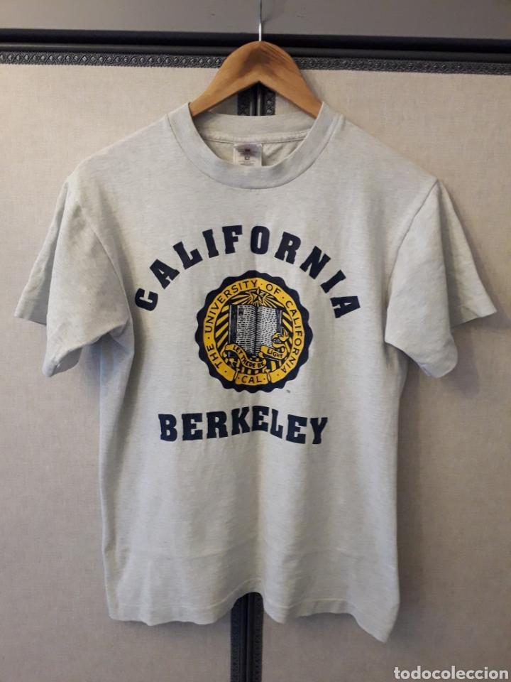CALIFORNIA BERKELEY UNIVERSITY AUTHENTIC VINTAGE TSHIRT CAMISETA TALLA S (Vintage - Moda - Hombre)