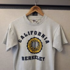 Vintage: CALIFORNIA BERKELEY UNIVERSITY AUTHENTIC VINTAGE TSHIRT CAMISETA TALLA S. Lote 195308830