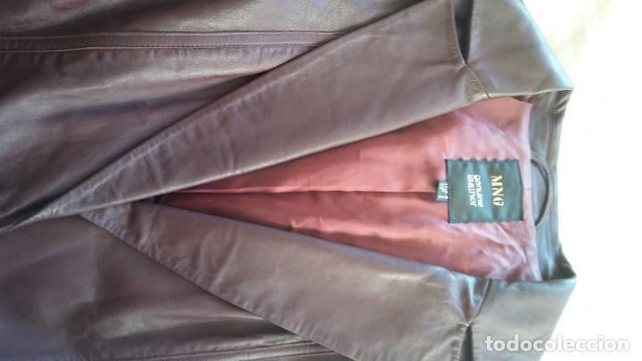Vintage: Chaqueta piel mango - Foto 3 - 195311132