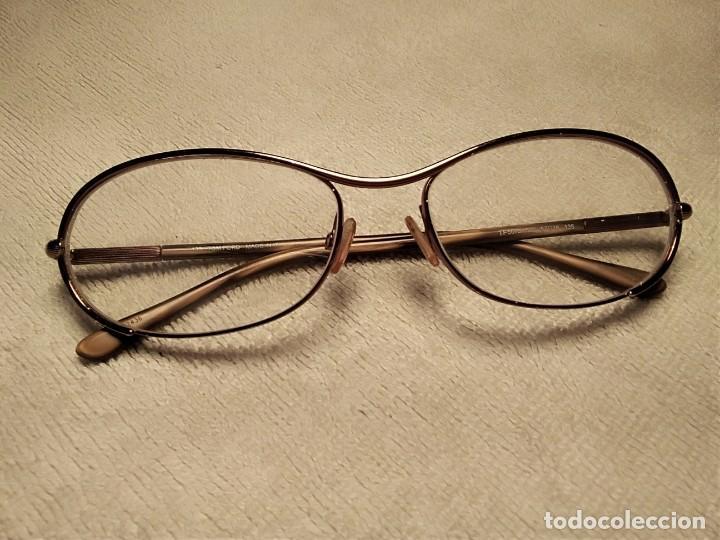 Vintage: Gafas ( TOM FORD, TF 5078. LP 1132436 en la Varilla )CRISTALES GRADUADOS. MONTURA EN BUEN ESTADO. - Foto 17 - 177947279