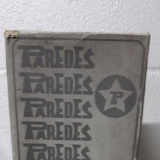 Vintage: CAJA ZAPATOS PAREDES-AÑOS 80. Lote 195917556