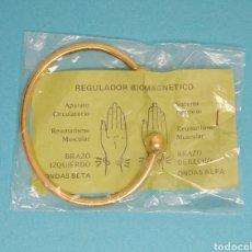 Vintage: REGULADOR BIOMAGNÉTICO AÑOS 80 . NUEVO EN SU BOLSA. Lote 196166020