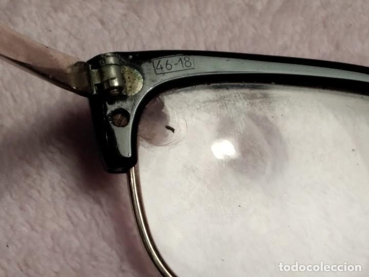 Vintage: Gafas vintage ( SIN MARCA SOLO 1/10 12K GF. En el puente.) CRISTALES GRADUADOS. MONTURA EN BUEN ESTA - Foto 5 - 197271706