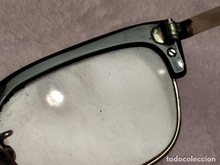 Vintage: Gafas vintage ( SIN MARCA SOLO 1/10 12K GF. En el puente.) CRISTALES GRADUADOS. MONTURA EN BUEN ESTA - Foto 6 - 197271706