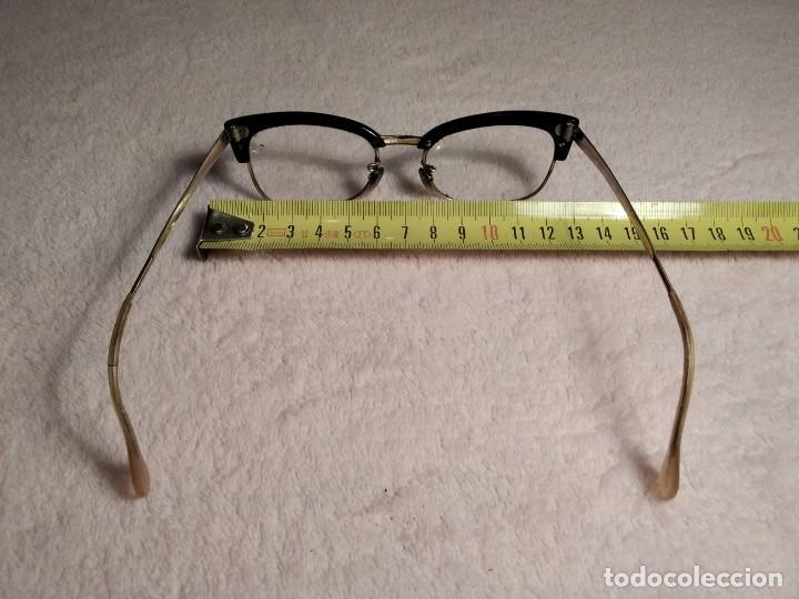 Vintage: Gafas vintage ( SIN MARCA SOLO 1/10 12K GF. En el puente.) CRISTALES GRADUADOS. MONTURA EN BUEN ESTA - Foto 9 - 197271706