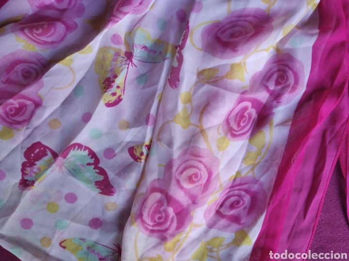 Vintage: Camiseta blusa rosas tala L - Foto 3 - 197431776