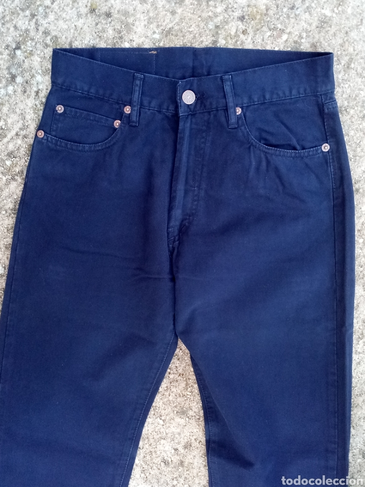 Vintage: Pantalon Vaquero Chico Solido 36 Vintage - Foto 2 - 197521040