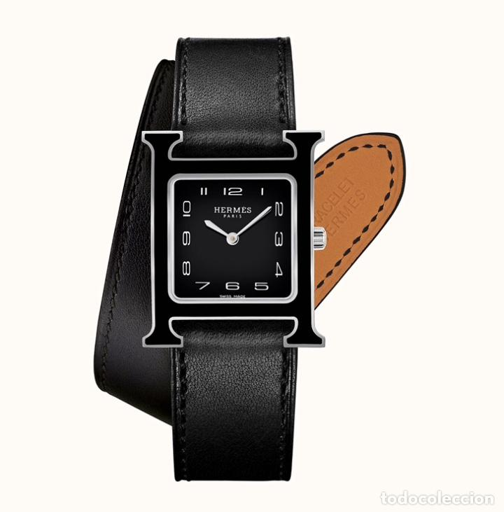 Vintage: Envío 8€. Correa doble original reloj HERMES. Mide 27x2cm la larga y 10x2cm la parte corta. - Foto 10 - 197392456